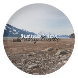 Costa del Alaskan de la CA Plato De Comida