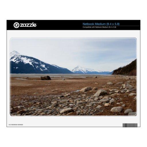 Costa del Alaskan de la CA Netbook Mediano Calcomanía