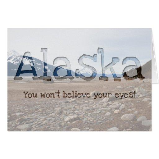 Costa del Alaskan de la CA Tarjeta De Felicitación