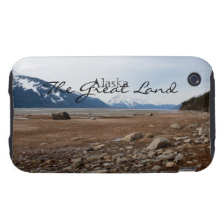 Costa del Alaskan de la CA Tough iPhone 3 Cobertura