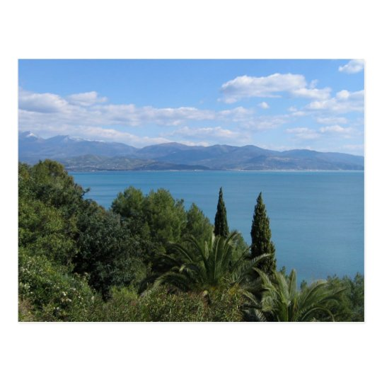 Costa del Cilento custom postcard