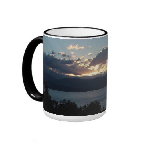 Costa del Cilento Sunrise custom mug