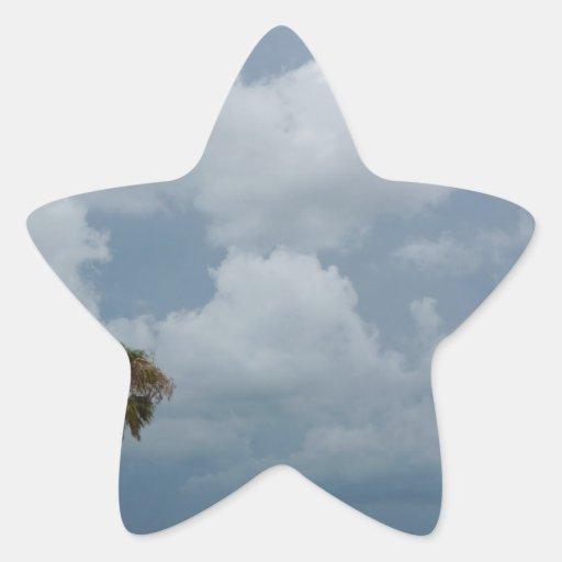 Costa del Golfo Pegatina En Forma De Estrella