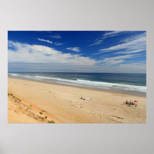 Costa del nacional de Cape Cod de la playa de Marc Posters