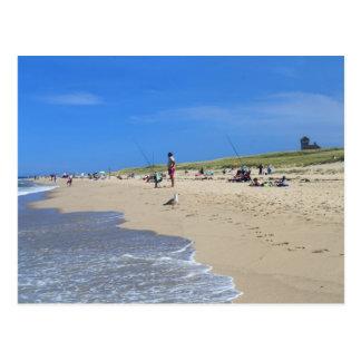 Costa del nacional de Cape Cod de la playa del pun Postales