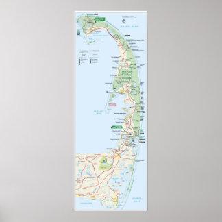 Costa del nacional de Cape Cod Póster