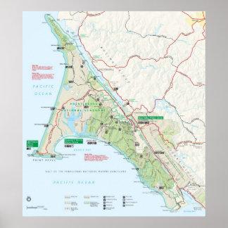 Costa del nacional de Reyes del punto Póster