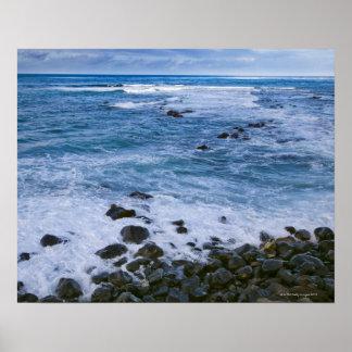Costa del norte, Maui, Hawaii, los E.E.U.U. Póster