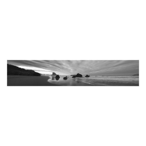Costa del sur de Oregon del panorama de la bella a Cojinete