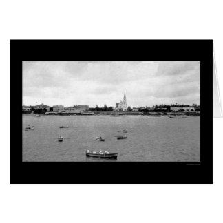 Costa en Dar es Salaam, Tanganyika 1902 Tarjeta De Felicitación