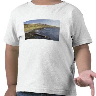 Costa en Duntulm, isla de Skye, Escocia, unida Camiseta