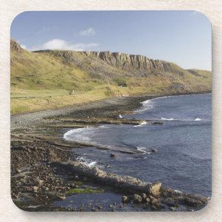 Costa en Duntulm, isla de Skye, Escocia, unida Posavasos De Bebidas