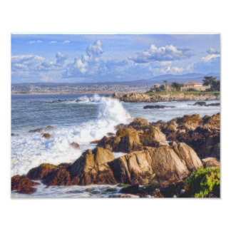 Costa escénica de Monterey California Fotografía