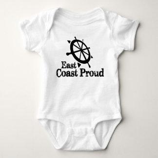 Costa este orgullosa - bebé náutico del timón poleras