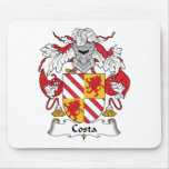 Costa Family Crest Mouse Pad