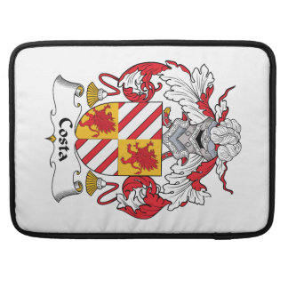 Costa Family Crest Sleeves For MacBook Pro