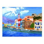 Costa griega tarjetas postales