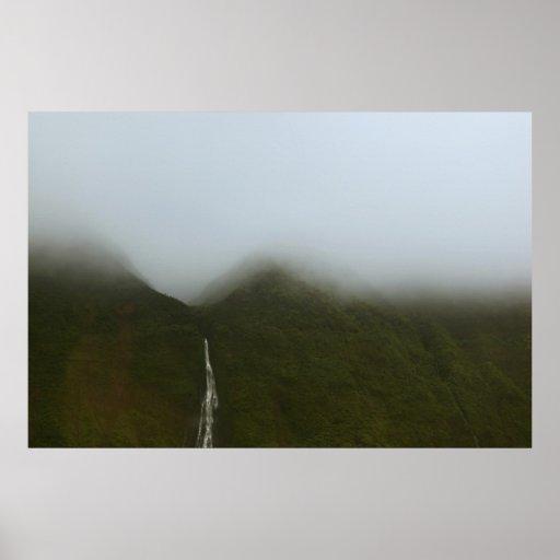 costa Kauai Hawaii del pali del na de las cascadas Impresiones