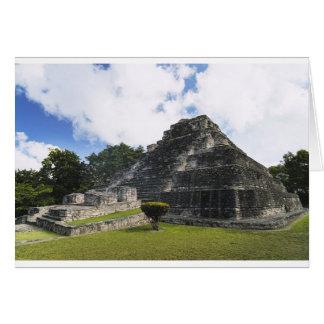Costa Maya Chacchoben Mayan Ruins Card