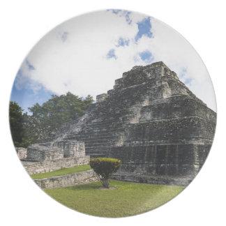 Costa Maya Chacchoben Mayan Ruins Melamine Plate
