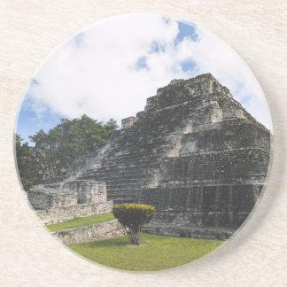 Costa Maya Chacchoben Mayan Ruins Sandstone Coaster
