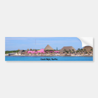 Costa Maya, Mexico Bumper Sticker