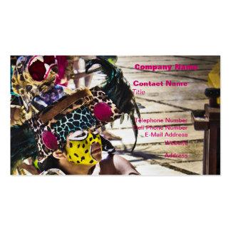Costa Mayan Ritual Business Cards