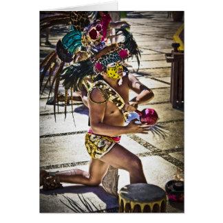 Costa Mayan Ritual Card