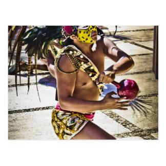 Costa Mayan Ritual Postcard