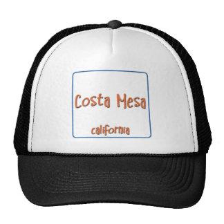 Costa Mesa California BlueBox Trucker Hat