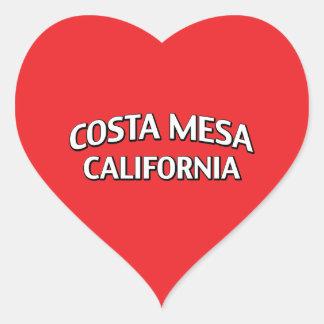 Costa Mesa California Heart Sticker