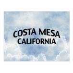 Costa Mesa California Post Card