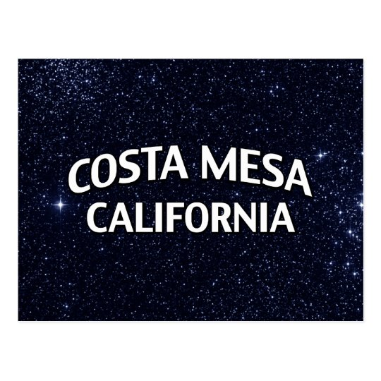 Costa Mesa California Postcard
