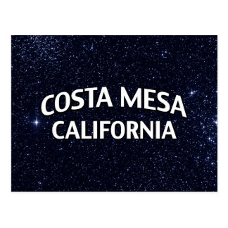 Costa Mesa California Tarjeta Postal