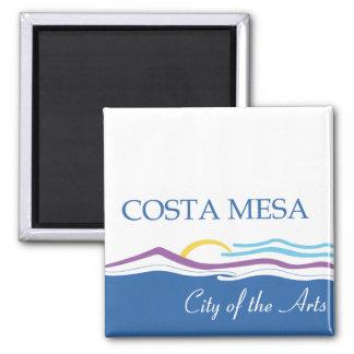 Costa Mesa city flag Refrigerator Magnets