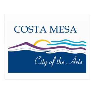 Costa Mesa Flag Postcard