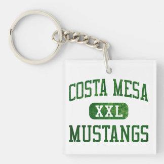 Costa Mesa Mustangs Athletics Single-Sided Square Acrylic Keychain