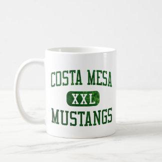 Costa Mesa Mustangs Athletics Classic White Coffee Mug