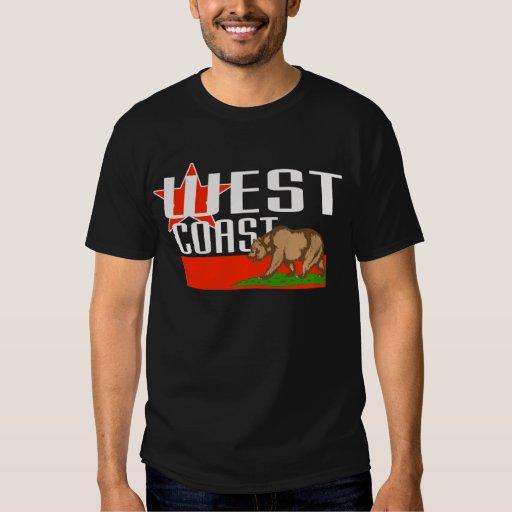 Costa oeste -- Camiseta Poleras