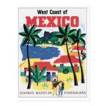 Costa oeste de México Guaymas, Mazatlan, Guadalaja Tarjeta Postal