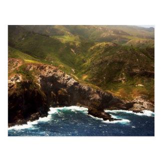 Costa oeste de Moloka'i Tarjetas Postales
