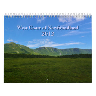 Costa oeste del calendario de Terranova