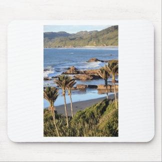 Costa oeste Nueva Zelanda de las palmas de Nikau Alfombrillas De Raton