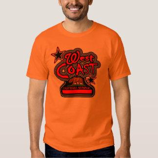 Costa oeste (república de Cali)-- Camiseta Playera
