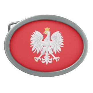 Costa polaca de la hebilla del cinturón de los hebilla de cinturon oval