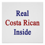 Costa real Rican dentro Poster