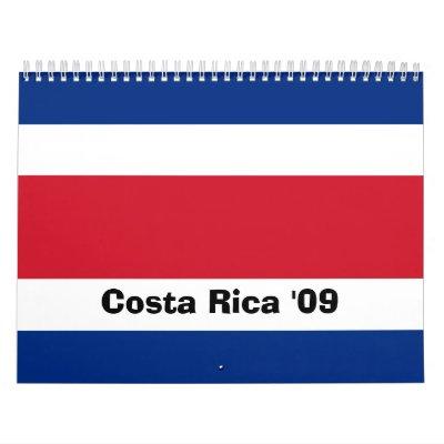 Costa Rica '09 Calendarios