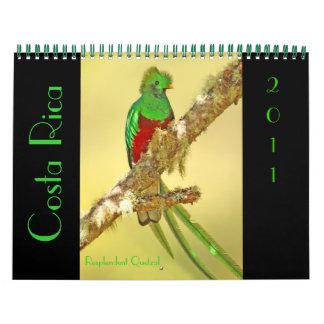 Costa Rica 2011 Calendar