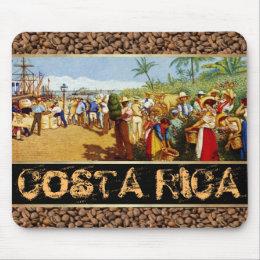 Costa Rica Alegoria del Cafe Mouse Pad