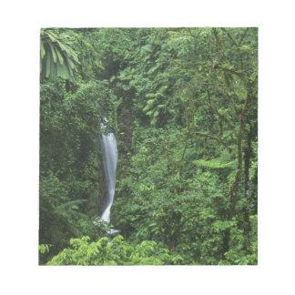 Costa Rica, Arenal Volcano area, Hanging Bridges Notepad